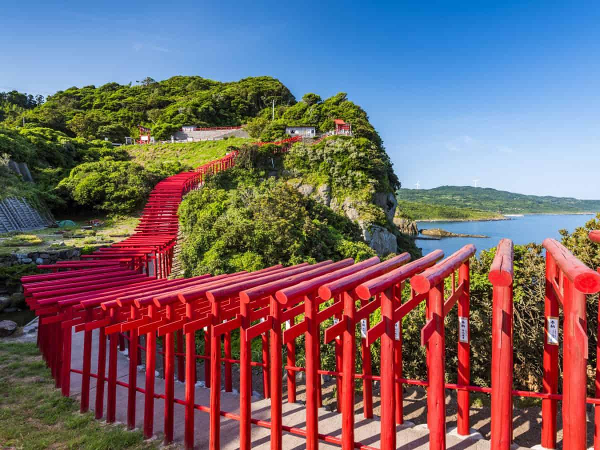 ศาลเจ้าโมโตโนะสึมิ (Motonosumi Shrine)