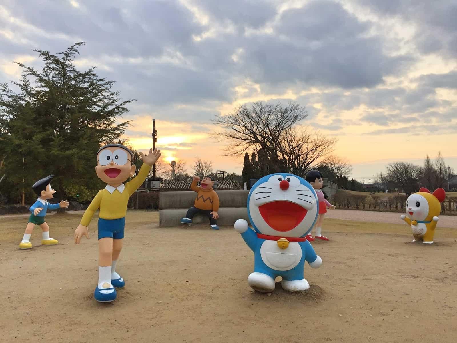 สวนทากาโอกะ โอโตกิ โนะ โมริ (Takaoka Otogi-no-mori Park)