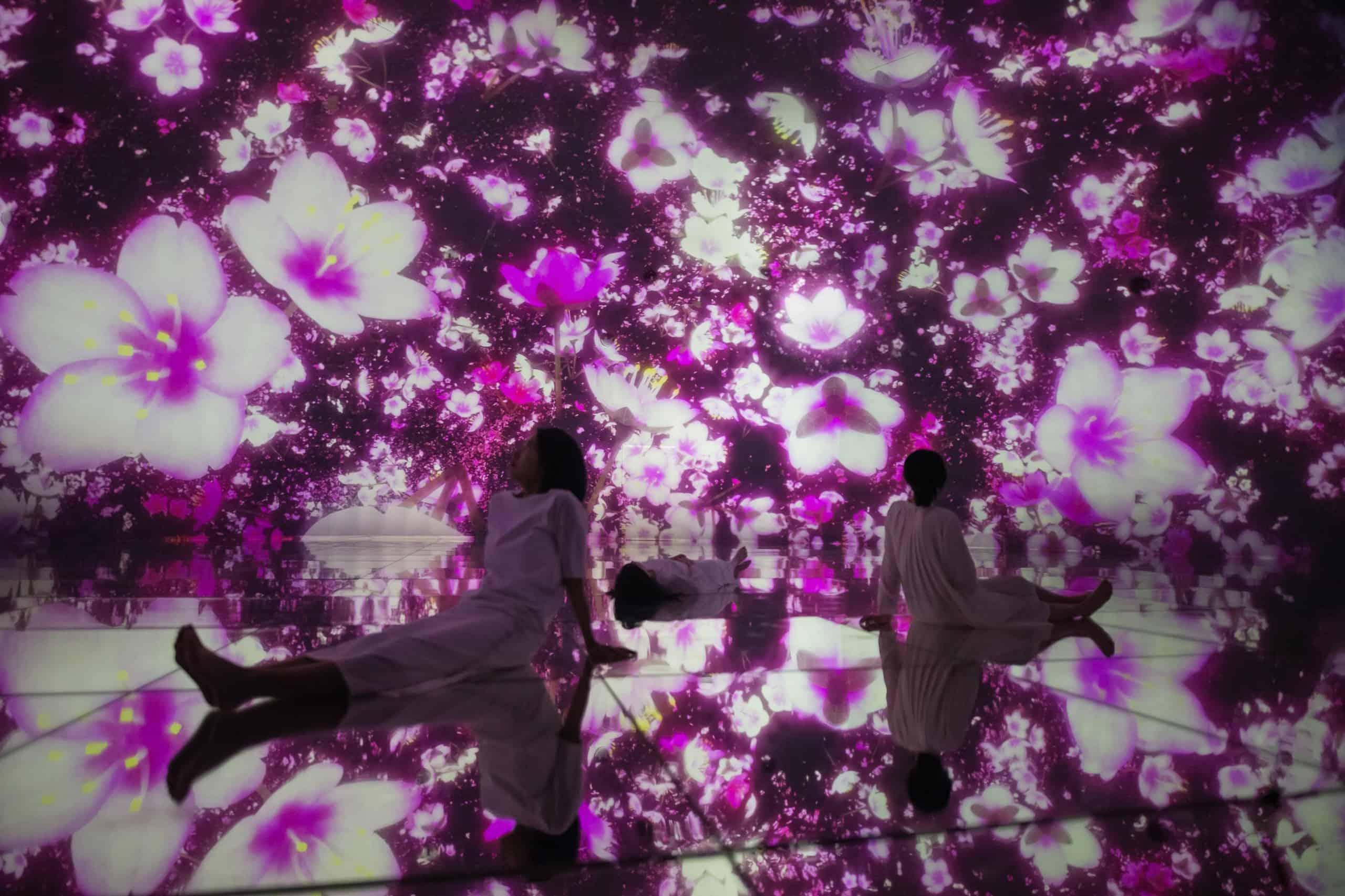 เที่ยวโตเกียว teamLab Planets TOKYO DMM