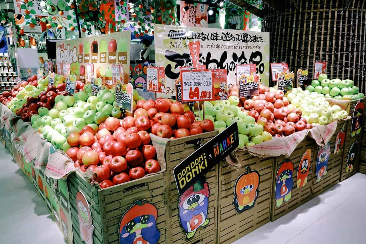 DON DON DONKI THE MARKET BANGKOK ผลไม้ส่งตรงจากญี่ปุ่น