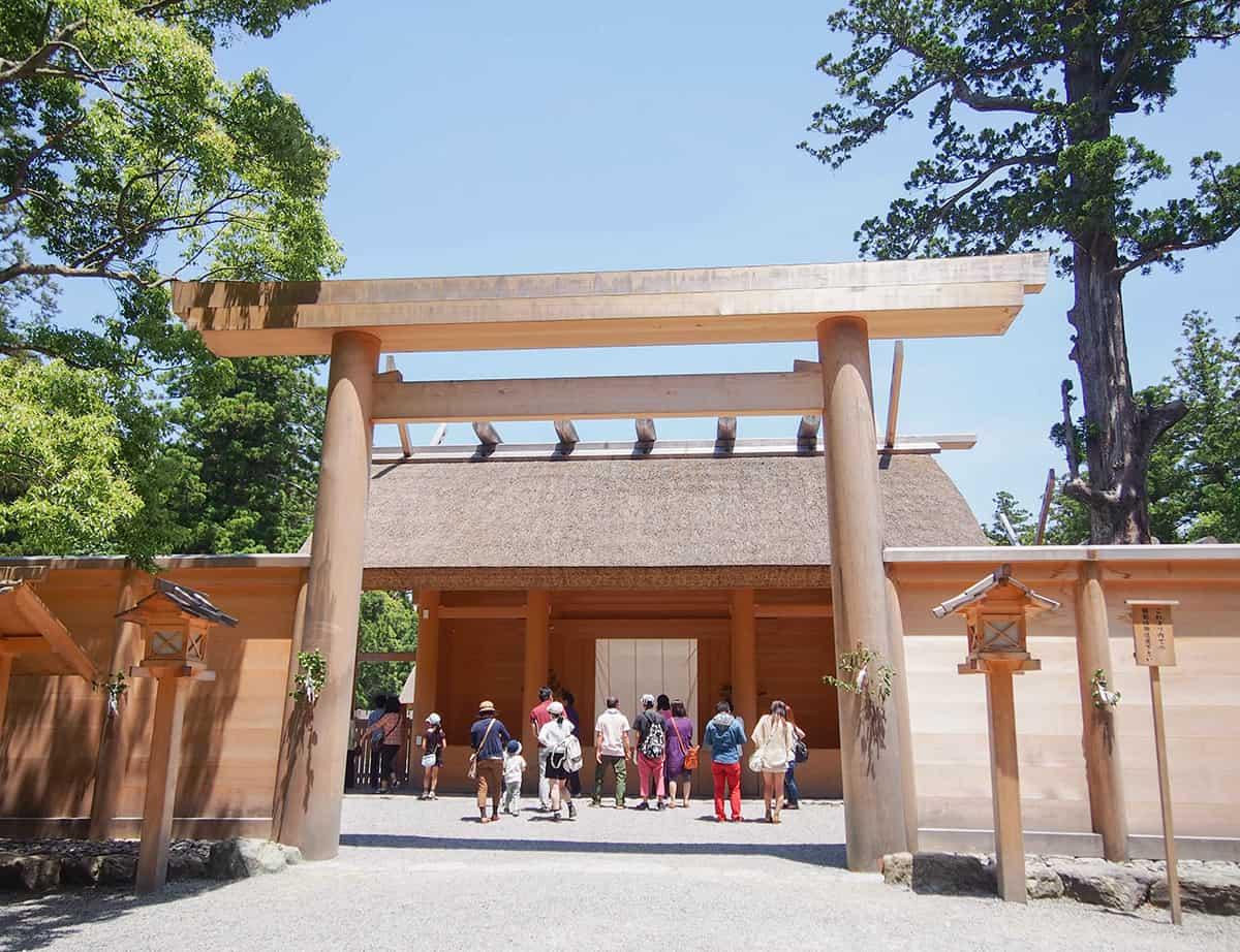 ที่เที่ยวมิเอะ (Mie) : ศาลเจ้าอิเสะ (Ise Jingu)