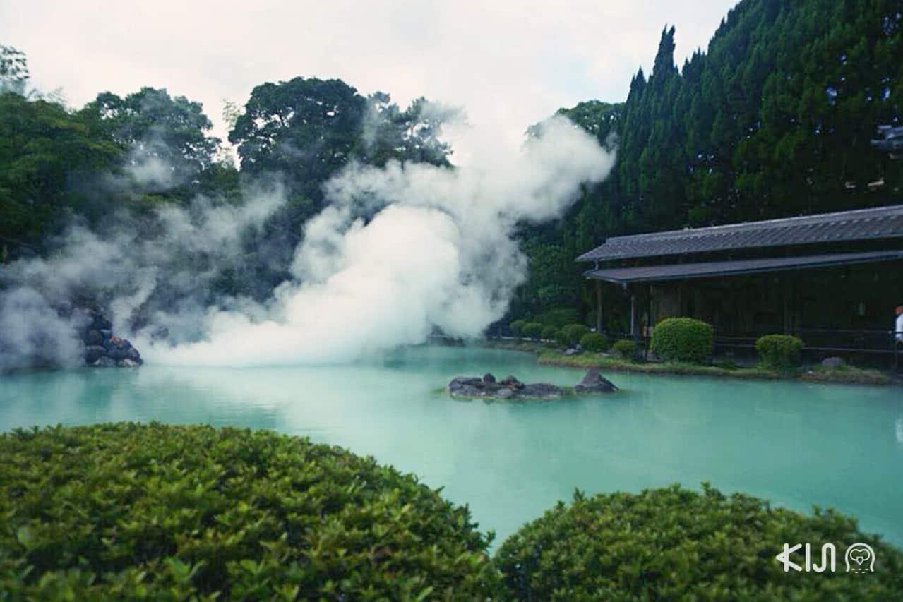 บ่อชิราอิเกะ จิโกกุ (Shiraike Jigoku) ในเบปปุ (Beppu)