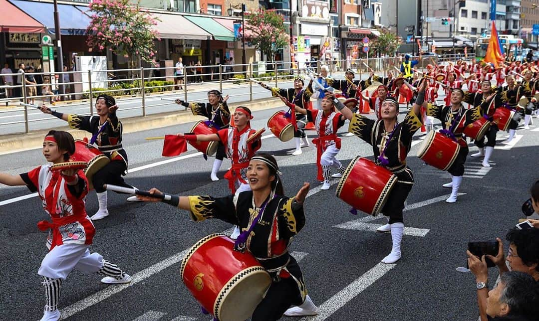 10,000 Eisa Dancers Parade in Okinawa