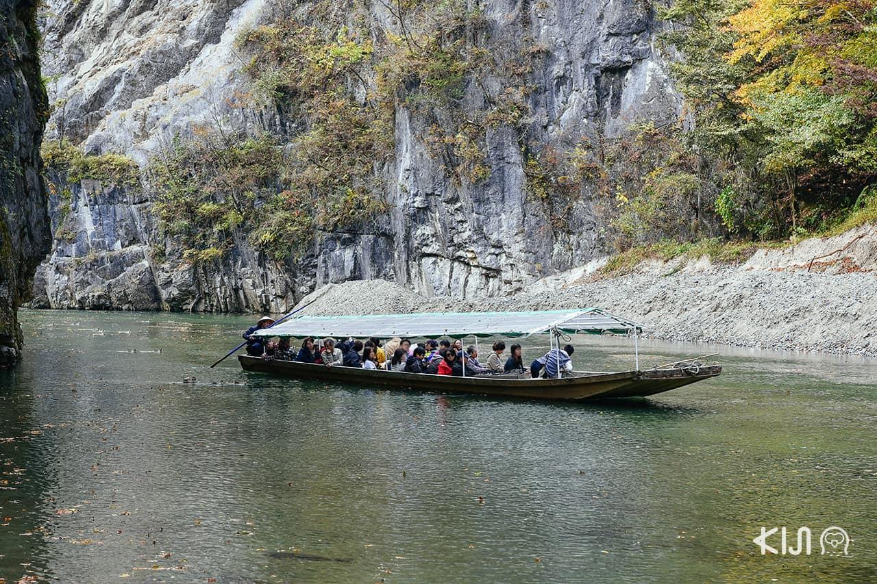 เที่ยวอิวาเตะ (Iwate) ที่ หุบเขาเกบิเค (Geibikei Gorge)