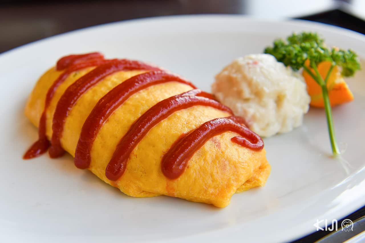 ร้านอาหารที่หุบเขาเกบิเค (Geibikei Gorge) จ.อิวาเตะ (Iwate)