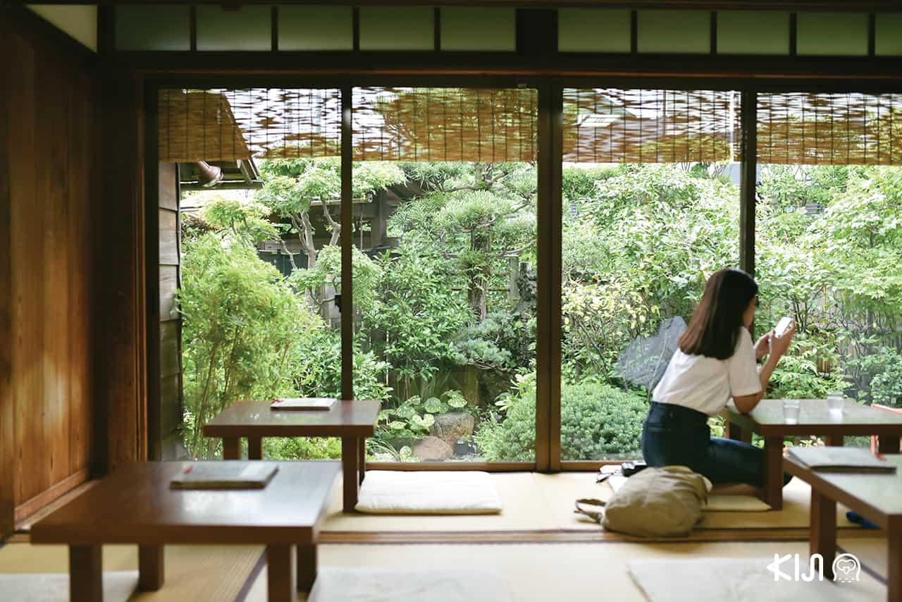 คาเฟ่ในคามาคุระ (Cafe in Kamakura) : Mushinan 無心庵