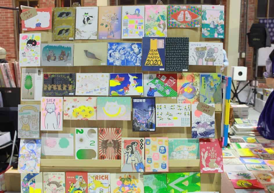 Kamihaku in Sendai งานของคนรักกระดาษ