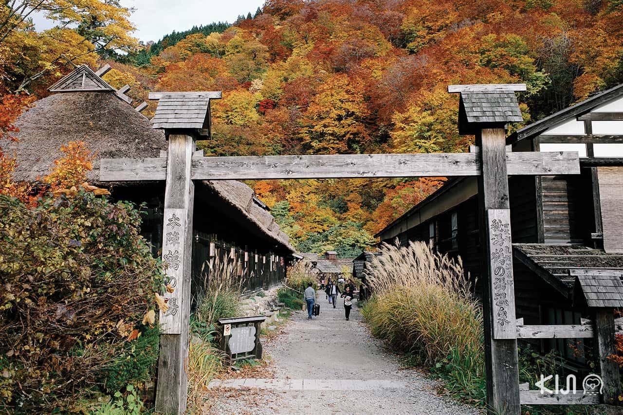 วิธีเดินทางไป นิวโตออนเซ็น (Nyuto onsen)