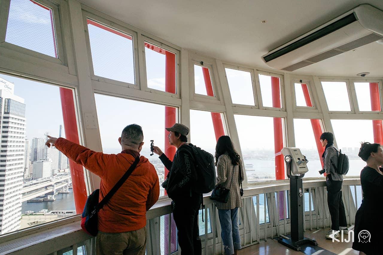 Kobe City Loop Bus : Nakatottei Pier (Kobe Port Tower)