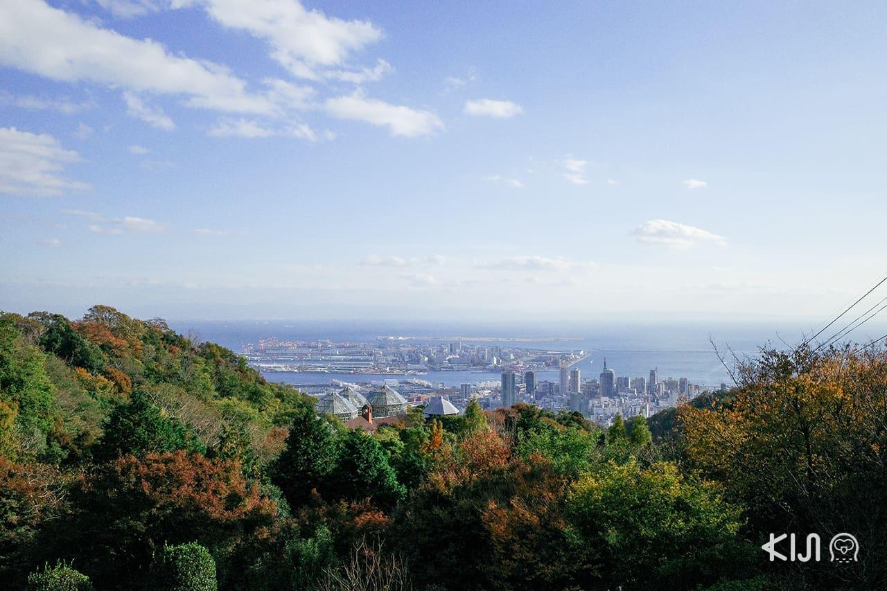 ชมวิวเมืองโกเบ Kobe Nunobiki Herb Gardens & Ropeway