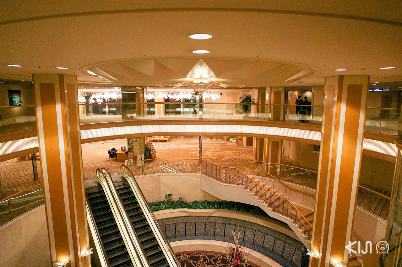 Arima Grand Hotel - บรรยากาศภายในโรงแรม
