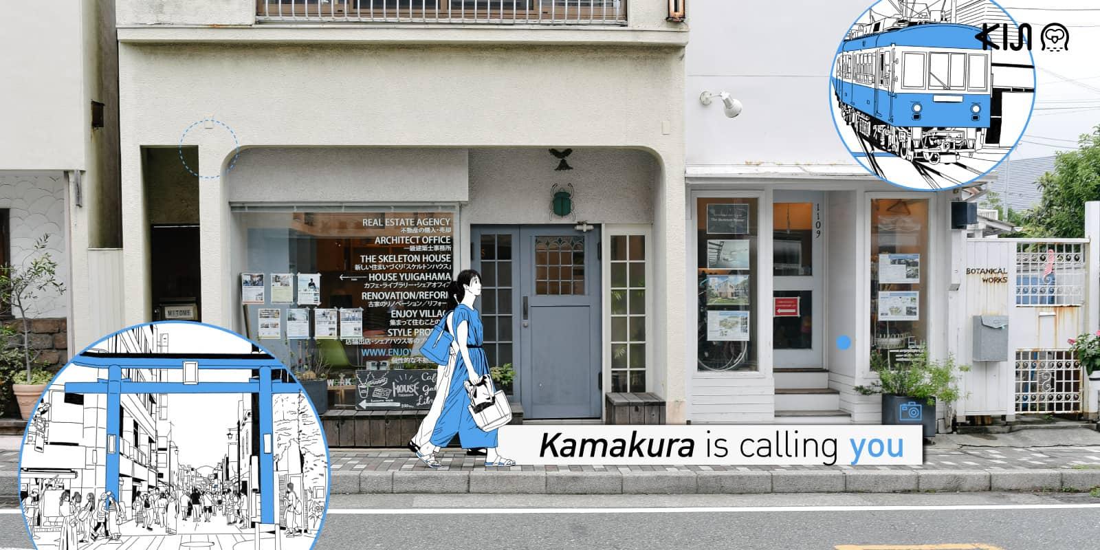 """แพลนเที่ยว """"คามาคุระ (Kamakura)"""""""