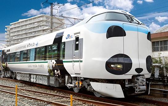 Panda Kuroshio Train รถไฟแพนด้าฉลองครบรอบ 30 ปี JR West