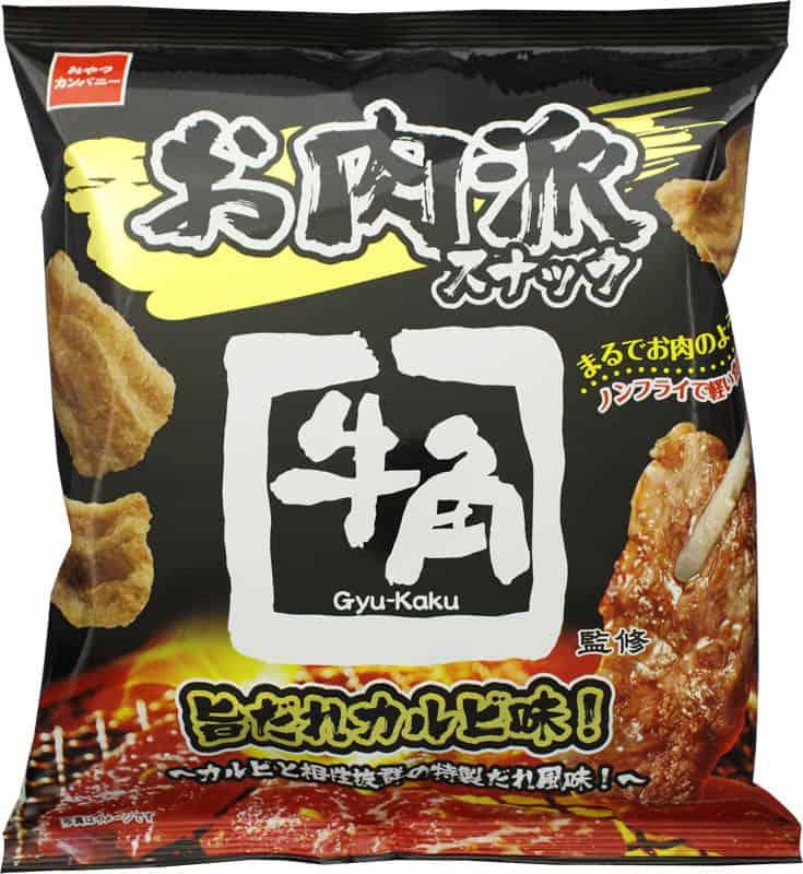 Gyu-Kaku Snack ขนมรสเนื้อคารุบิย่างซอสยากินิกุ ญี่ปุ่น
