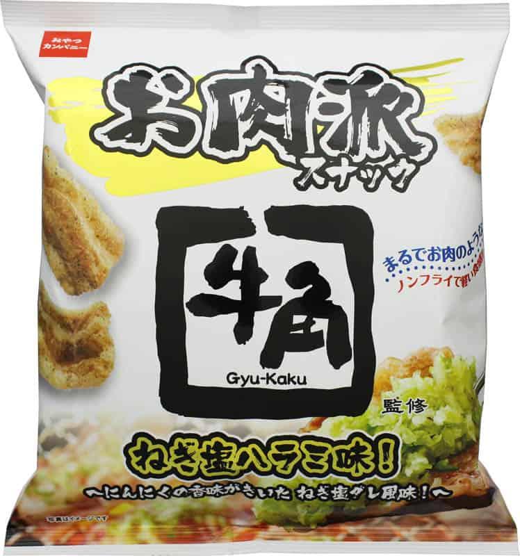 Gyu-Kaku Snack ขนมรสเนื้อฮารามิย่างซอสเกลือต้นหอม ญี่ปุ่น