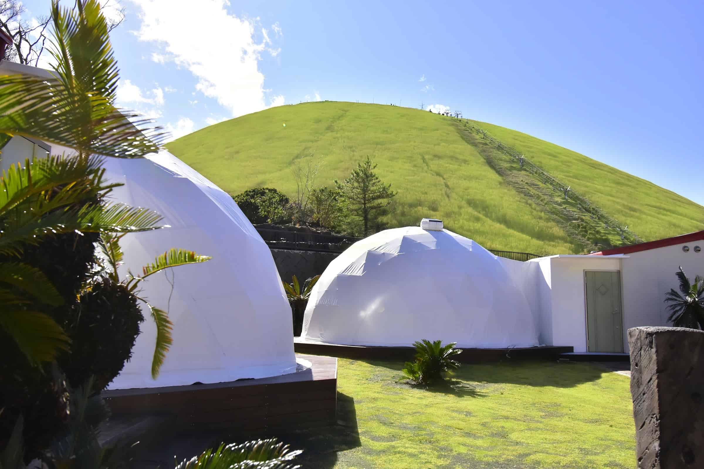 Petit Hotel Izu Shaboten Village ใกล้ภูเขาโอมูโระในเมืองอิโต