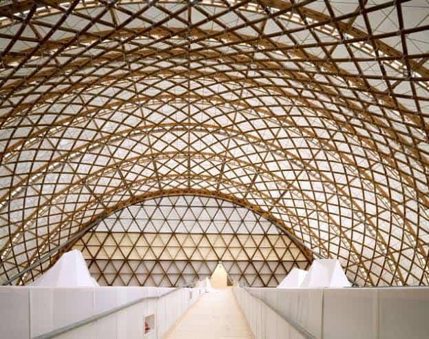"""โครงสร้าง """"คาโกเมะ"""" ในงานสถาปัตยกรรม"""