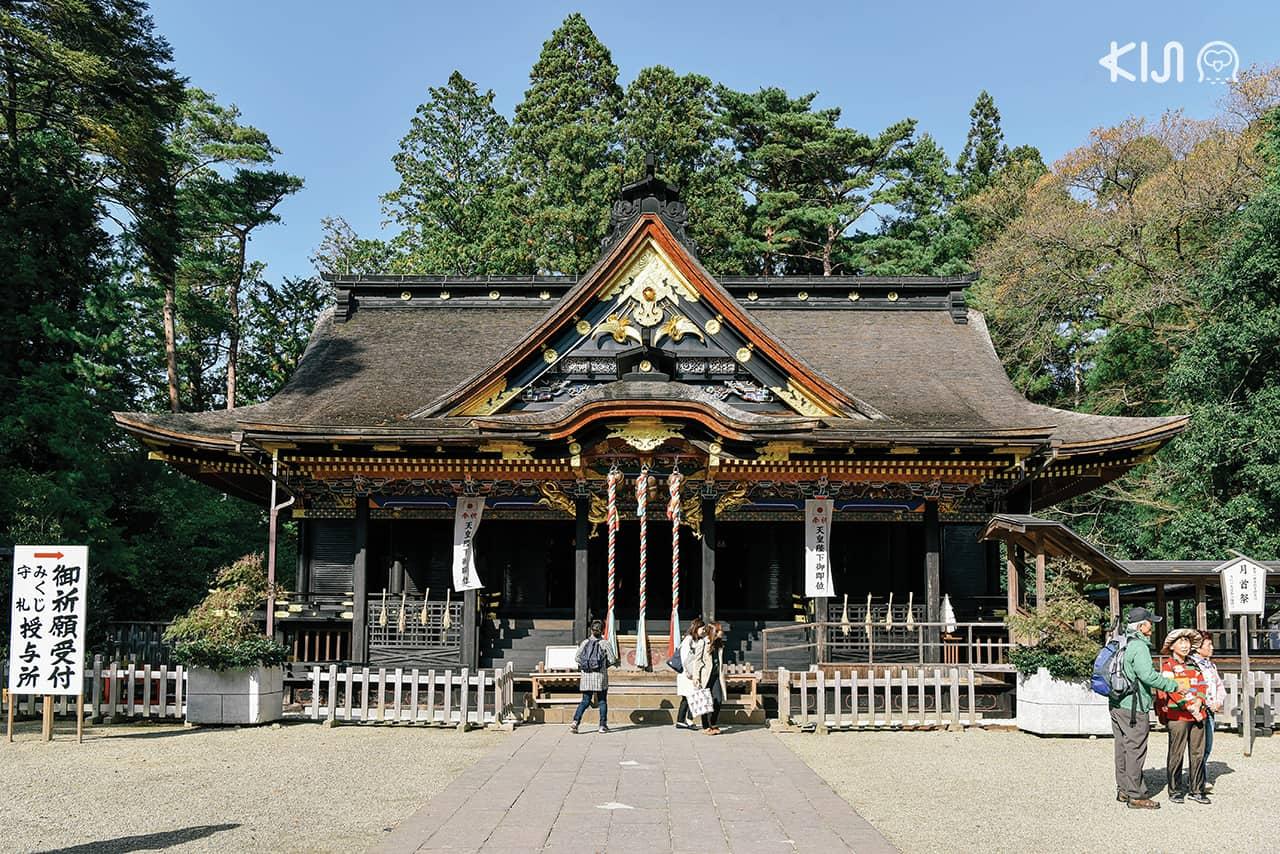 Osaki Hachimangu Shrine ศาลเจ้าประจำเมืองเซนได