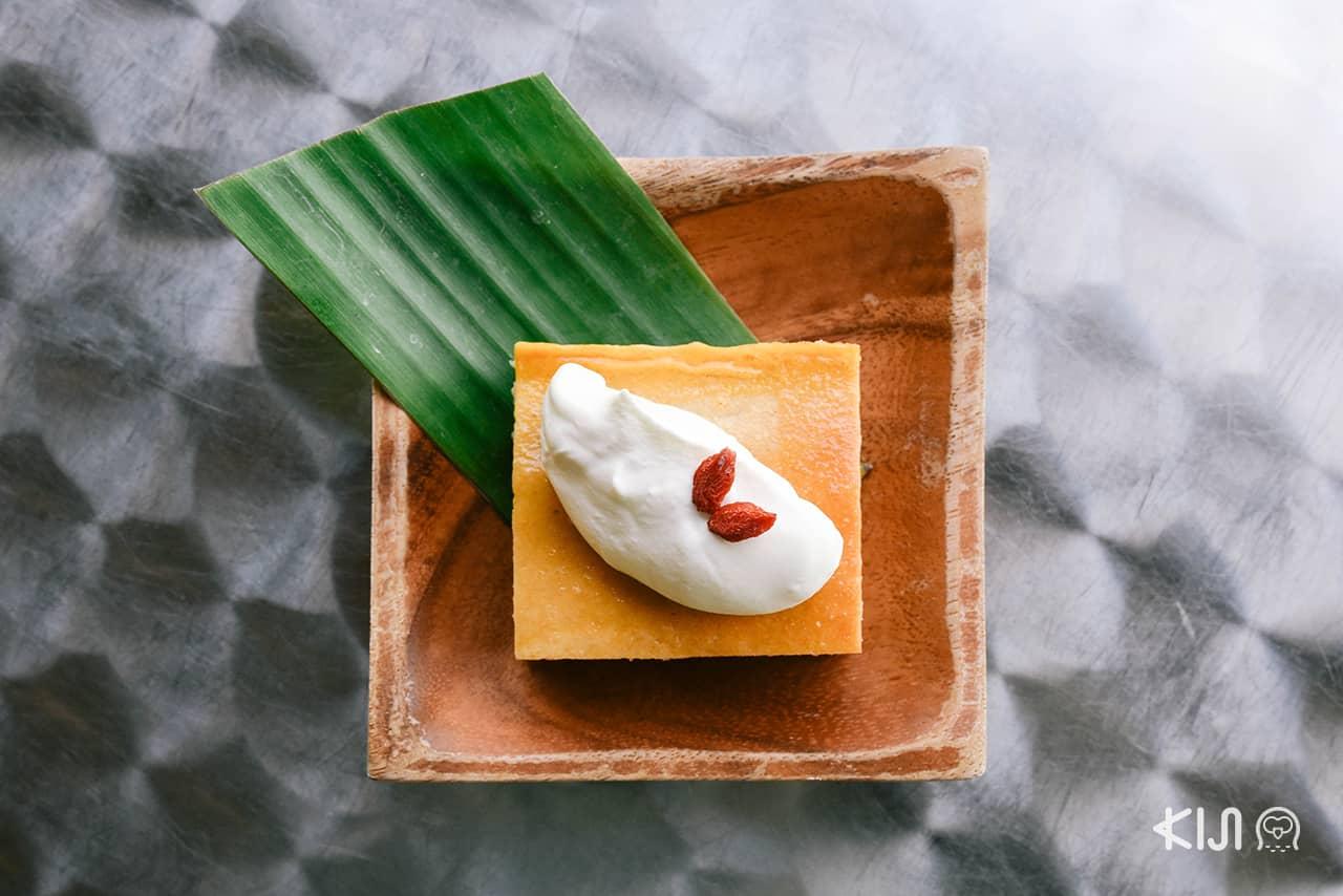 หม้อแกงเผือก ขนมไทยของร้าน Pepa Cafe Forest