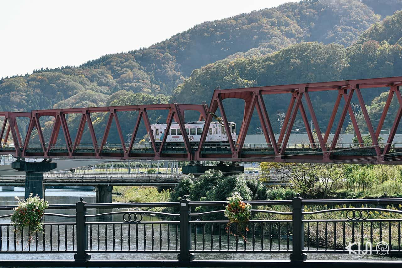 บรรยากาศเมืองคามาอิชิ (Kamaishi Station)