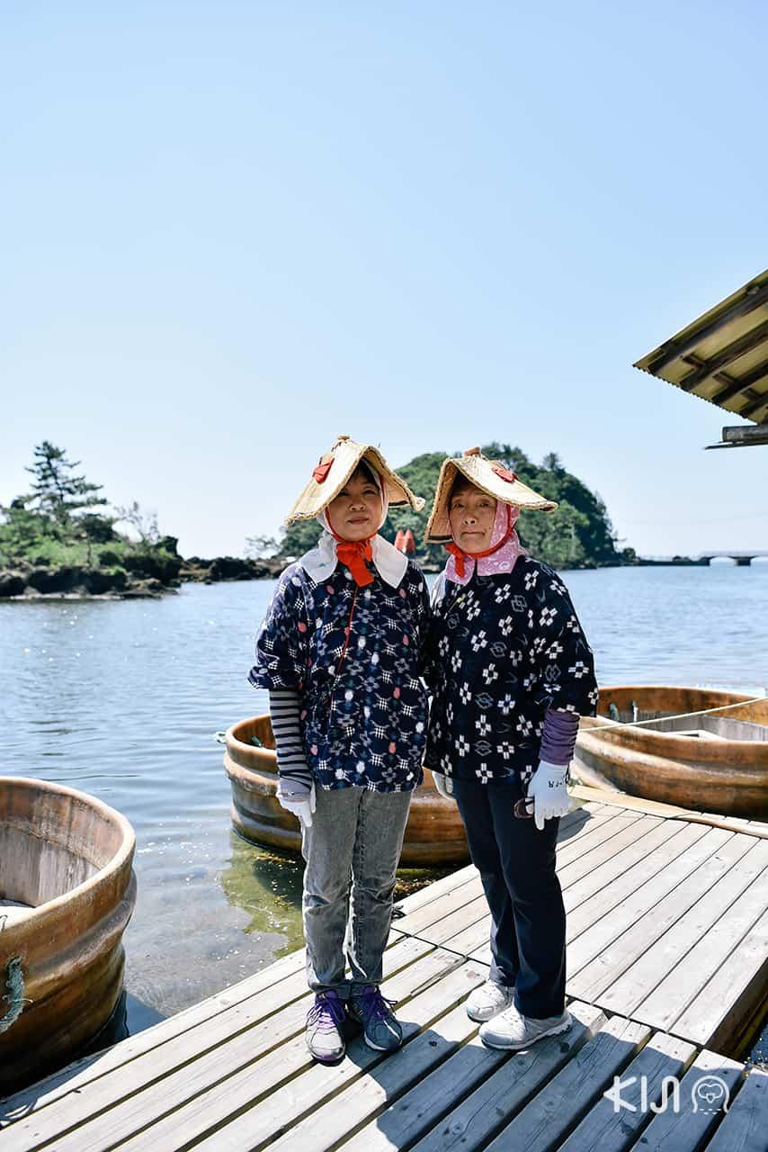 คุณป้าใจดีจะพาย เรืออ่าง (Tarai Bune) พาเราชมวิวเกาะซาโดะ