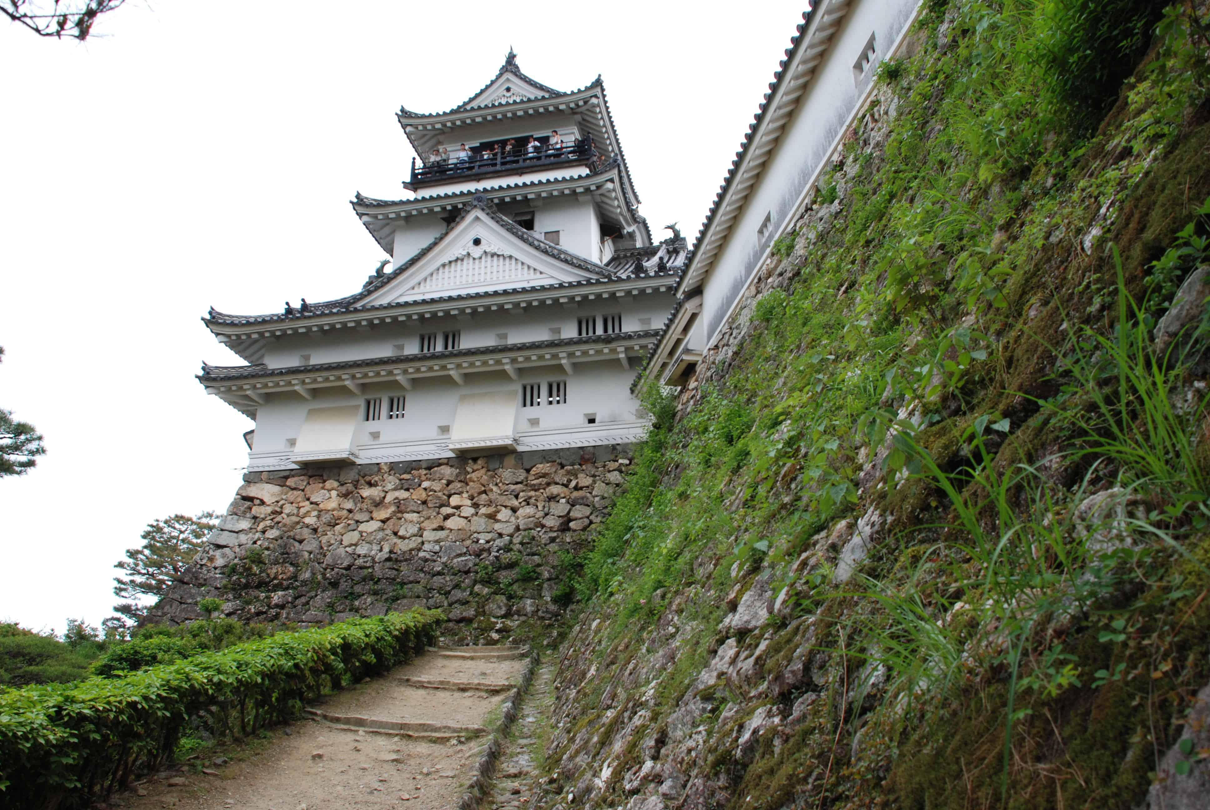 ปราสาทโคจิ Kochi Castle โคจิ
