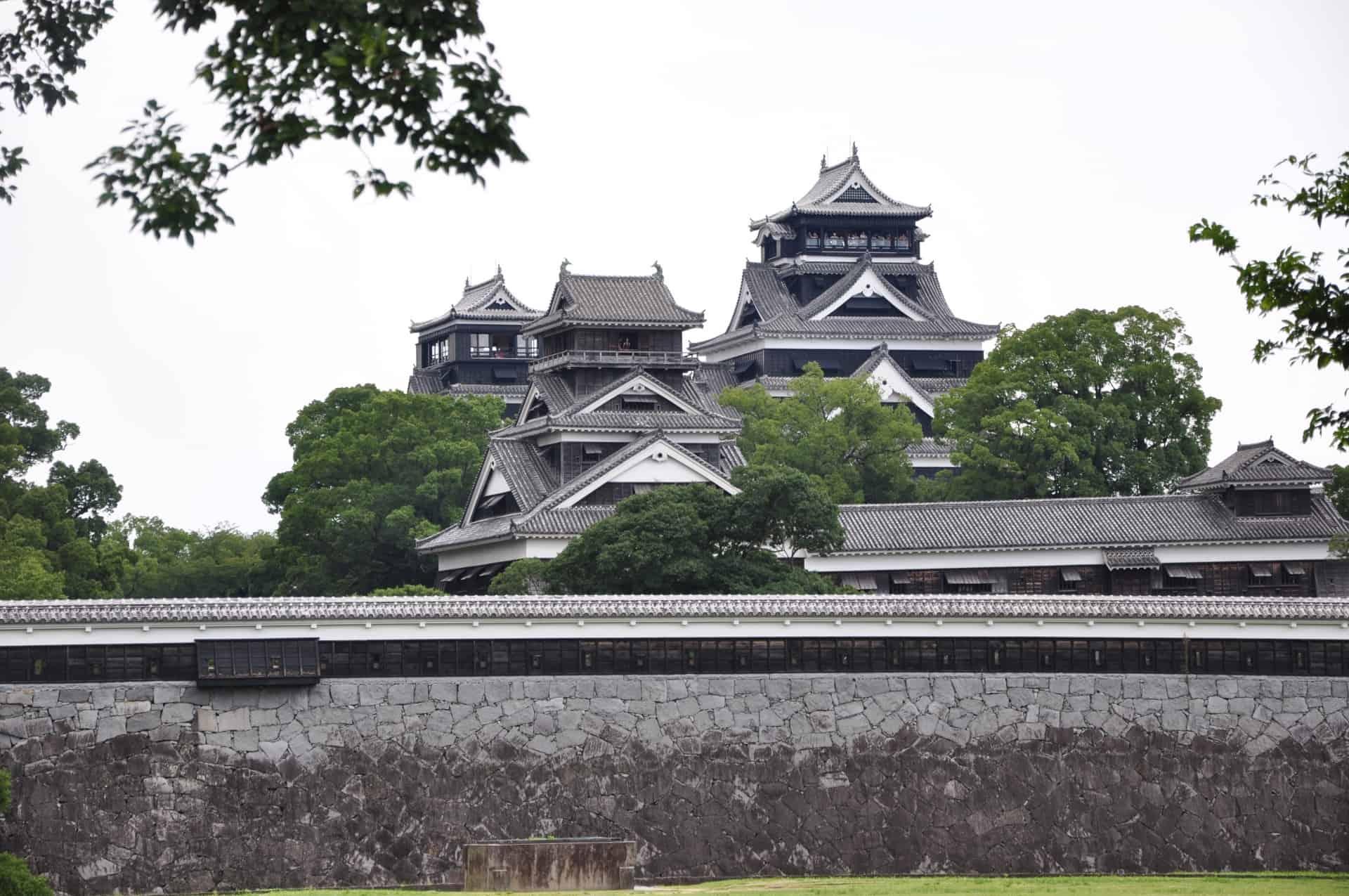 ปราสาทคุมาโมโตะ (Kumamoto Castle) ปราสาทญี่ปุ่น ซึ่งมีอีกชื่อเรียกว่าปราสาทแป๊ะก๊วย