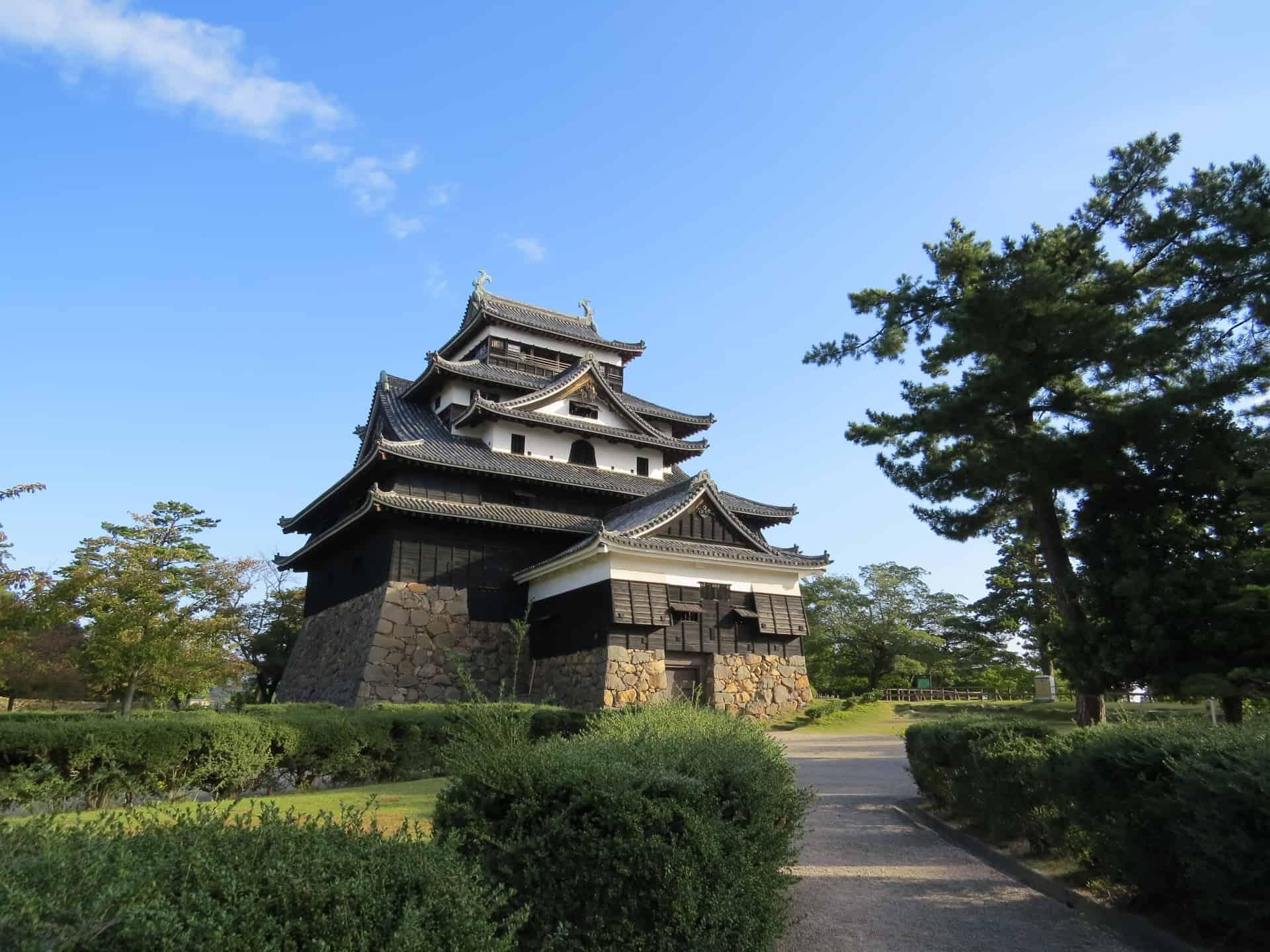 ปราสาทมัตสึเอะ Matsue Castle มัตสึเอะ ชิมาเนะ