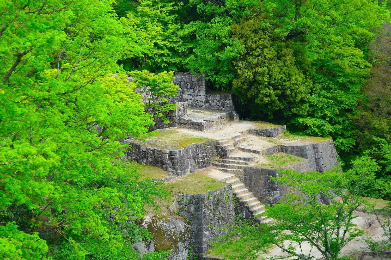 ปราสาทนาเองิ Naegi Castle นาคัตสึกาวะ กิฟุ