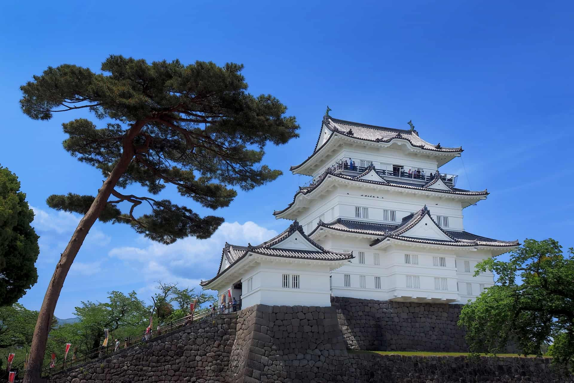 ปราสาทโอดาวาระ (Odawara Castle) ปราสาทญี่ปุ่น ซึ่งเป็นฐานที่มั่นของตระกูลโฮโจ จ.คานางาวะ