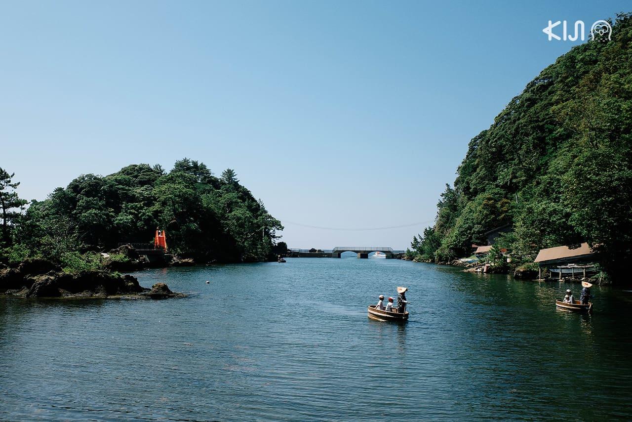 เรืออ่าง (Tarai Bune) ชมวิวเกาะซาโดะ