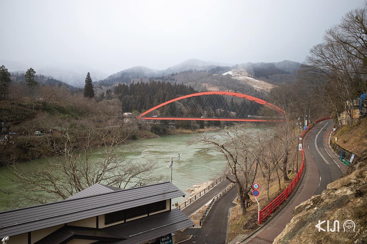 จากทางเดินขึ้นวัดเอ็นโซจิ (Enzoji Temple), Fukushima