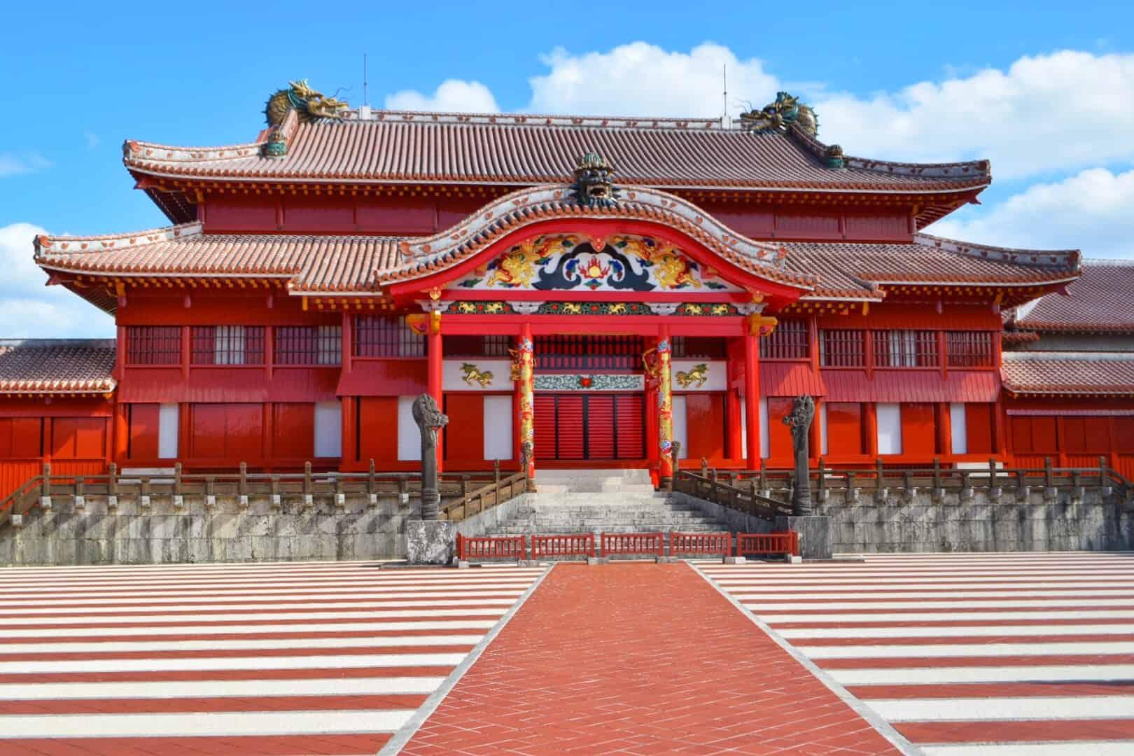 ปราสาทชุริ Shuri Castle นาฮะ โอกินาว่า