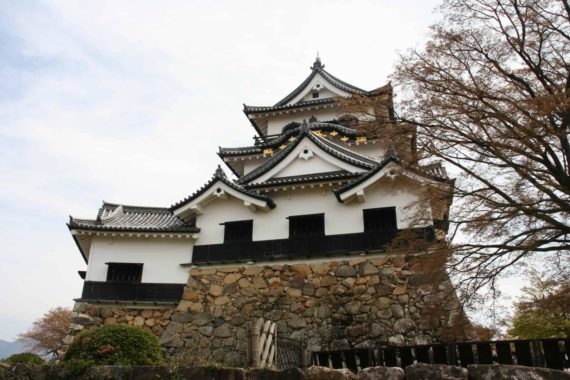 ปราสาทฮิโกเนะ Hikone Castle ฮิโกเนะ ชิกะ