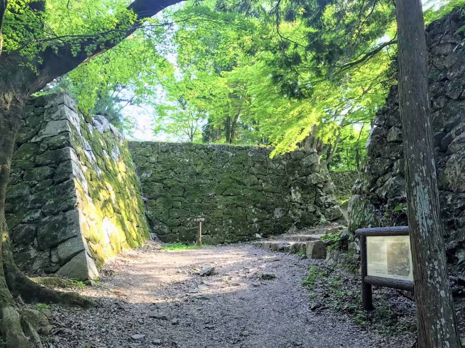 ปราสาททาคาโทริ Takatori Castle ทาคาอิจิ นาระ