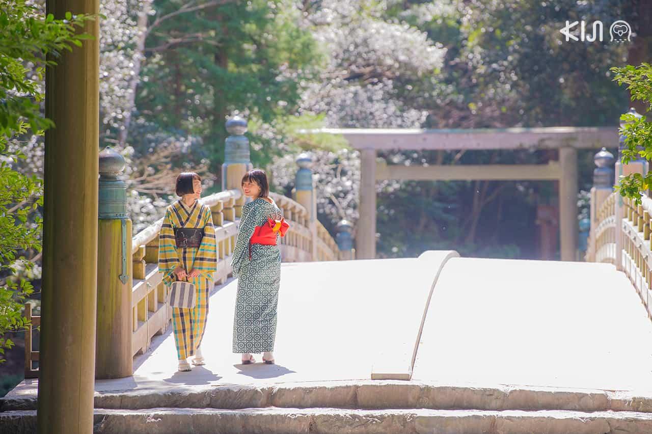 เที่ยว Ise Shrine ในจังหวัด มิเอะ