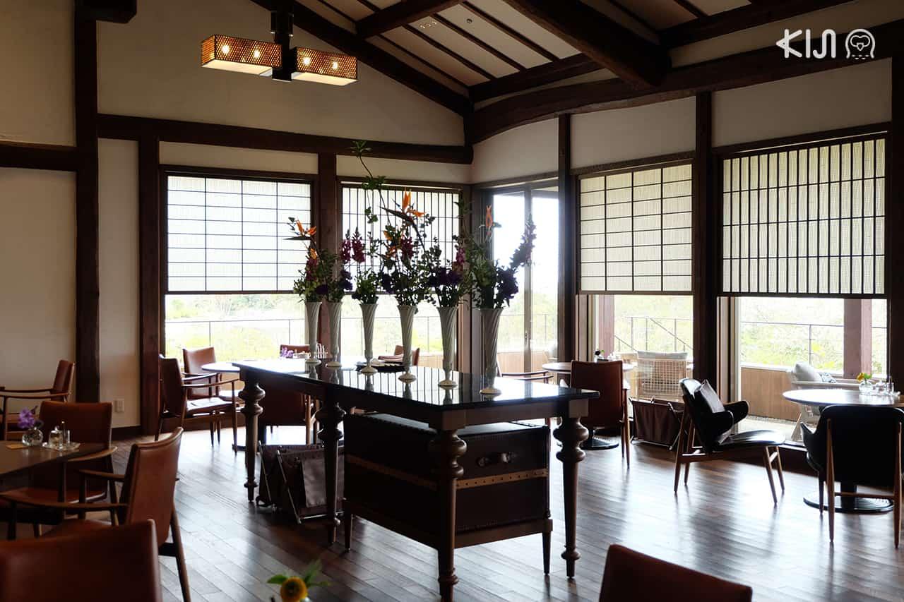 เที่ยว มิเอะ :Afternoon tea at Shima Kanko Hotel