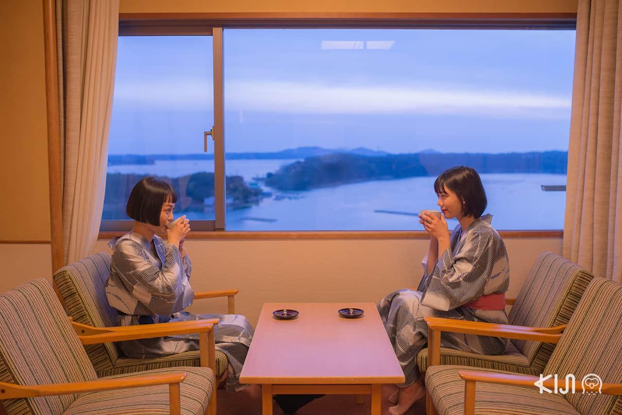 ทริป เที่ยว มิเอะ กับห้องพักวิวสวยใน Kashikojima Hojoen