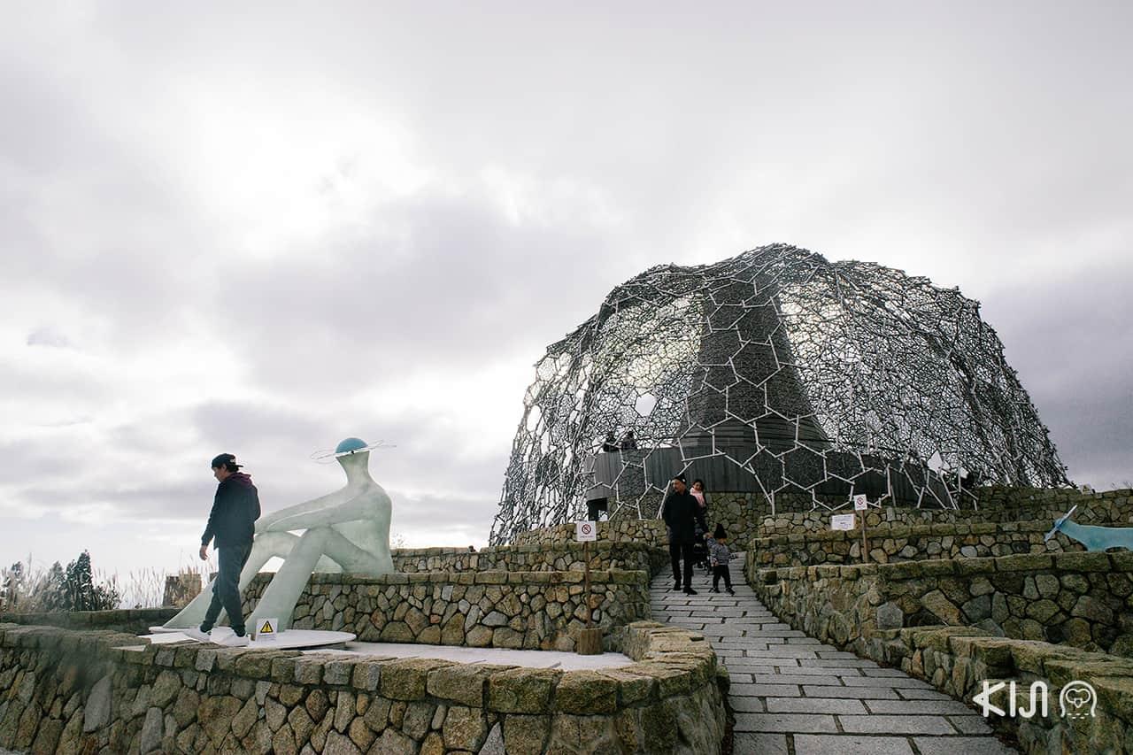 Rokko Shidare Observatory จุดชมวิวธรรมชาติรูปทรงแปลกตา