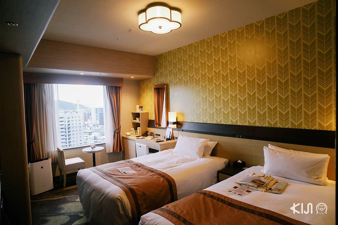 Hotel Monterey Himeji โรงแรมบรรยากาศดีที่สามารถเดินได้จากสถานีรถไฟ ฮิเมจิ ภายใน 5 นาที