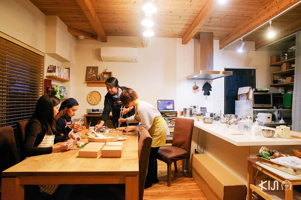 เข้าคอร์สทำอาหารญี่ปุ่นในเมือง ฮิเมจิ ที่ Aikscooking Class