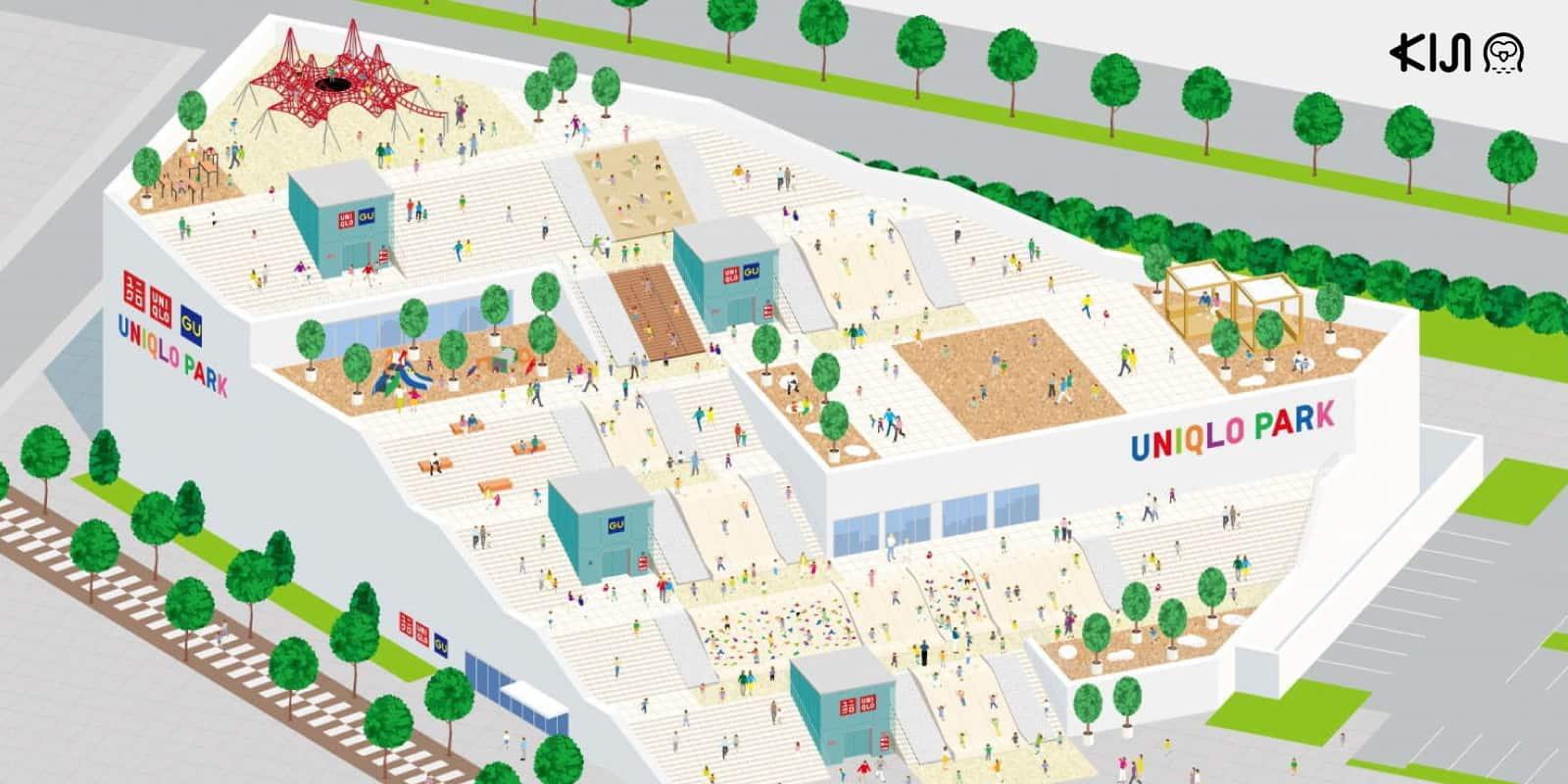Uniqlo Park สวนสนุกและสโตร์แห่งใหม่ที่โยโกฮาม่า