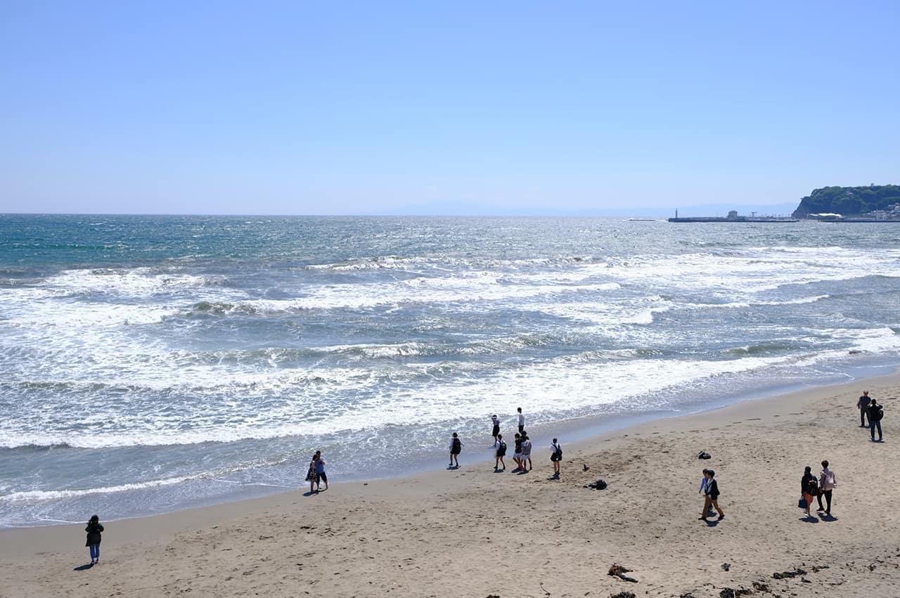 เที่ยวคามาคุระ โซนชายฝั่งทะเลด้วย Enoden 1 Day Pass