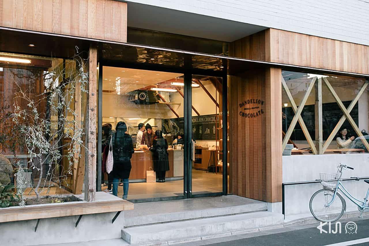 Dandelion Chocolate Factory & Cafe Kuramae, Tokyo