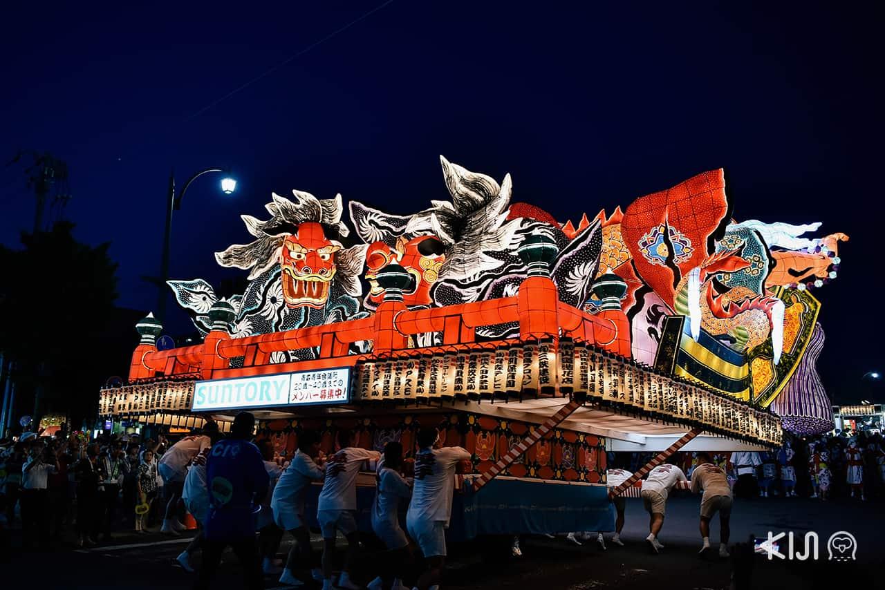Nebuta Matsuri เทศกาลฤดูร้อนชื่อดังของโทโฮคุ จัดขึ้นทุกปีที่จังหวัด อาโอโมริ