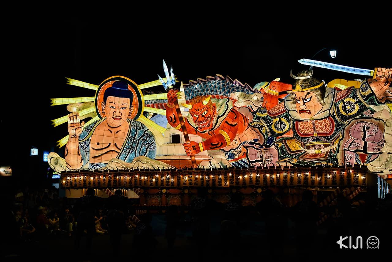 ภาพบรรยากาศภายในเทศกาลฤดูร้อนเนบูตะมัตสึริ (Nebuta Matsuri)