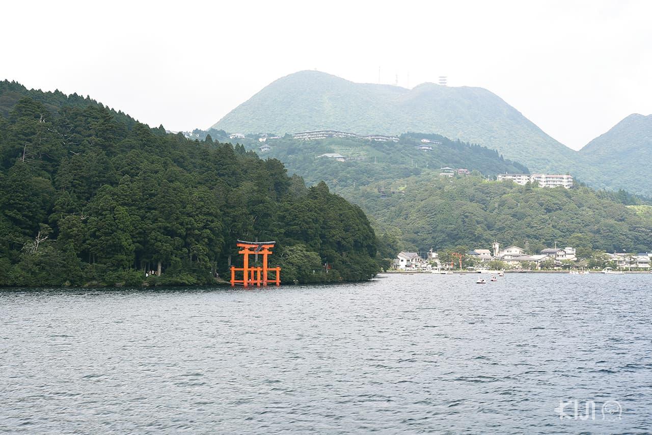 ที่เที่ยวฮาโกเน่ ณ ทะเลสาบอาชิ