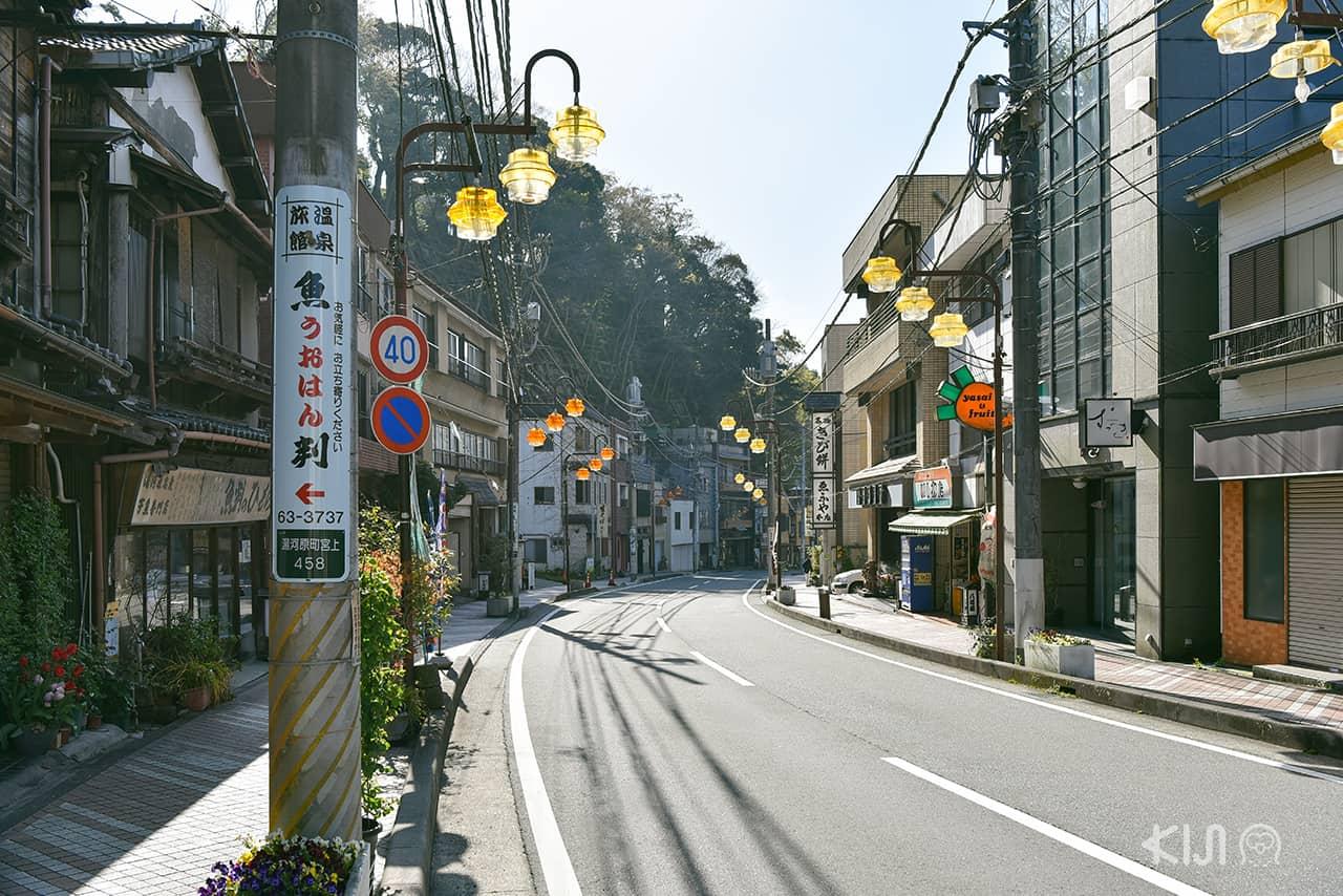ที่เที่ยวไม่ไกลโตเกียว : ยูกาวาระ จ.คานางาวะ