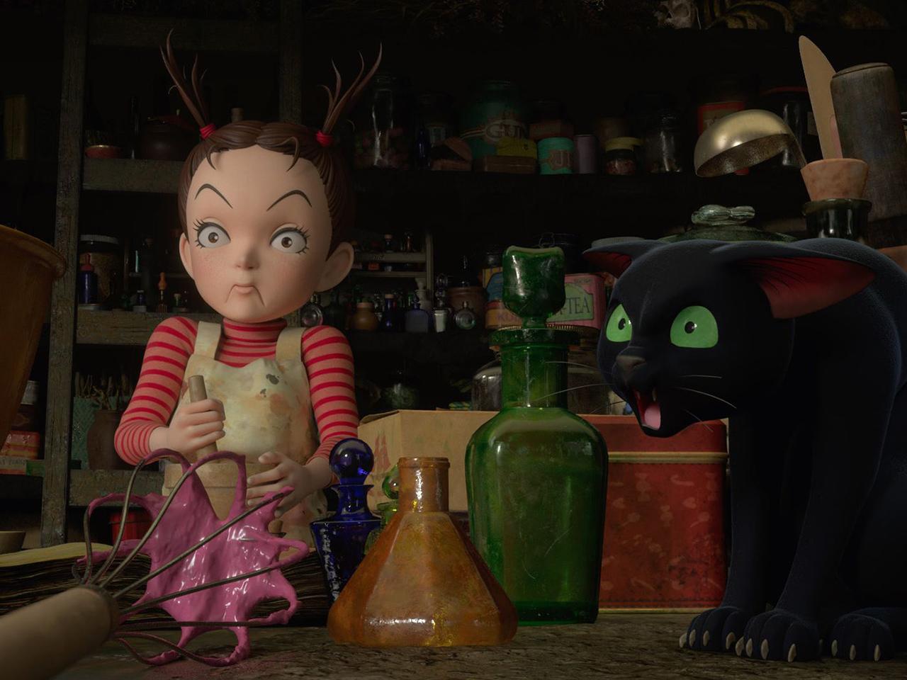 EARWIG AND THE WITCH มหัศจรรย์แม่มดอาย่า แอนิเมชัน 3D เรื่องแรกจาก Studio Glubli