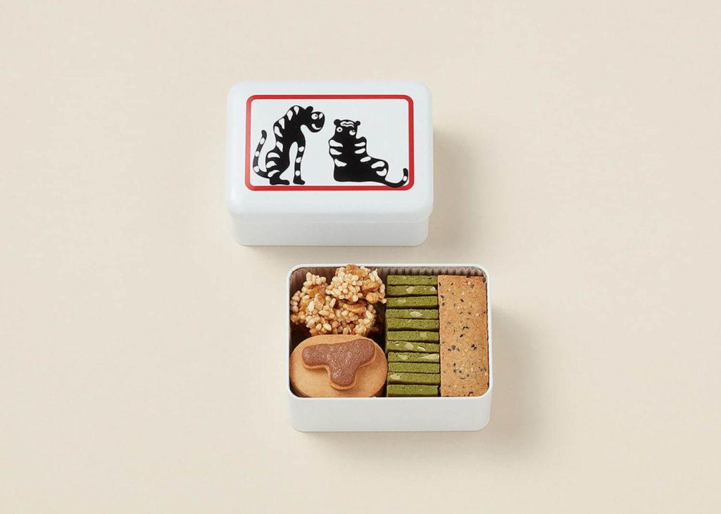 An Cookie คุ้กกี้สี่ชนิดและข้าวพองที่จะวางจำหน่ายที่ TORAYA CAFE ∙ AN STAND สาขาโยโกฮาม่า